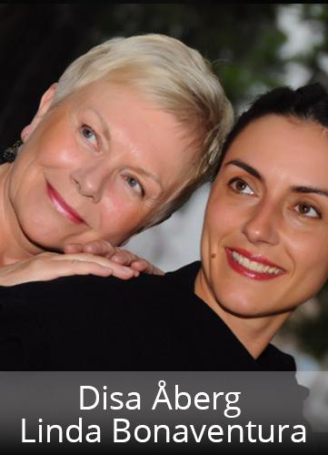 Disa Åberg och Linda Bonaventura