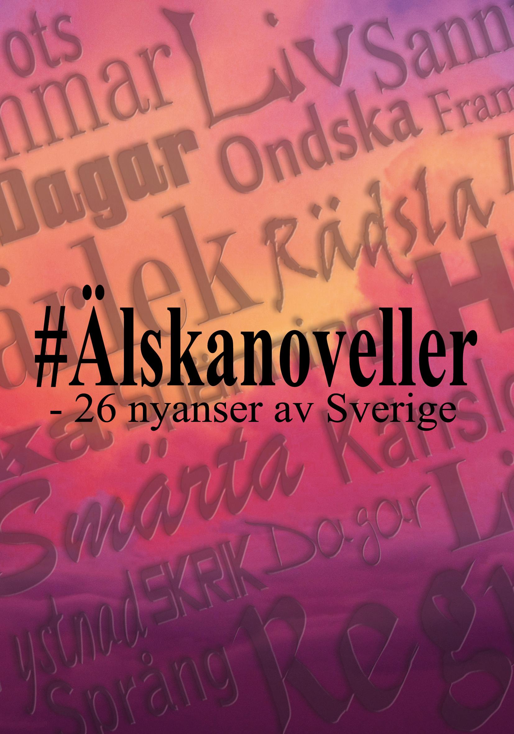 Omslag 26 nyanser av Sverige
