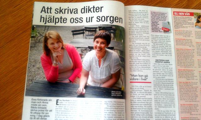 Anna Bratt och Ewa Åkerlind i Året Runt